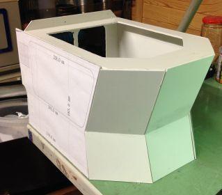Prototyp des Aufbaus